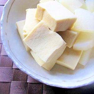 レンジで簡単!大根と高野豆腐の煮物