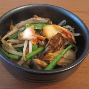 お野菜たっぷり♪野菜キムチ炒め