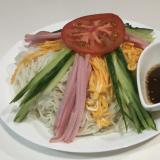 【簡単レシピ】鶏がらスープでそうめん冷やし中華♡