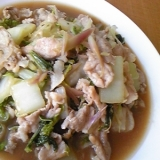 さっぱりこってり☆ミョウガと豚肉の炒め物