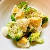 ブロッコリーとゆで卵の胡麻サラダ