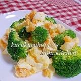 ☆ブロッコリーとゆで卵サラダ☆
