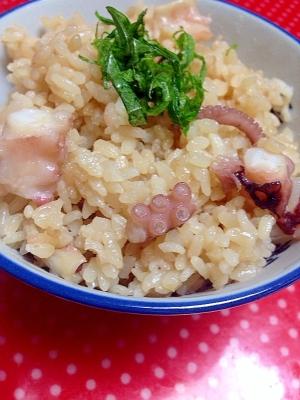 炊飯器de簡単☆絶品たこ飯