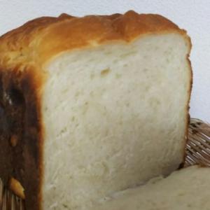 ホームベーカリーで粉末レモネードの食パン