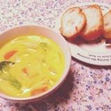 *黄色♡パンプキン豆乳シチュー♡*