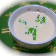 ビーンズ(大豆)のホワイトスープ