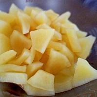 簡単おやつに☆材料2つだけのレンジで煮りんご♪