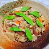 筍とゼンマイの炊き込みご飯