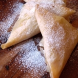 パート・フィロを使って♪りんごの甘煮のさくさくパイ