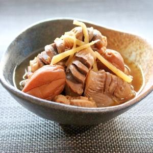 マ・ローニエプロ☆ふわふわ柔らか砂肝の梅しょうが煮