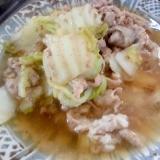 ハクサイと豚肉のおろし煮