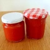 生トマトでトマトソース!長期保存もできて便利
