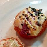 チーズとキャベツスプラウトのカニクリームコロッケ