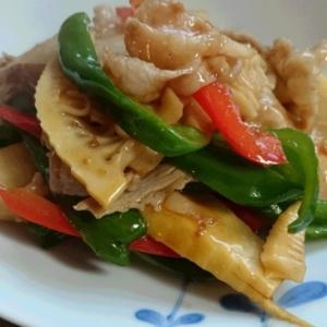 「Cook do」で簡単、竹の子炒め♪