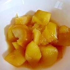 レモンが香る♪煮りんご