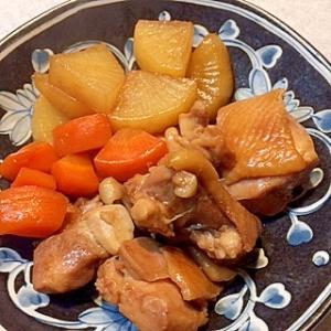 鶏モモ大根の黒酢煮