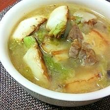 豚バラと冬野菜のスープ