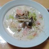 ★白菜と舞茸のクリーム煮★