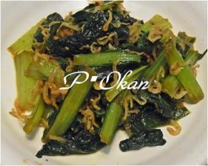 小松菜とチリメンジャコのピリ辛炒め