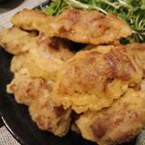 レンコンと豚肉の天ぷら