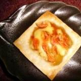しゅうまいの皮で作る♪桜エビのアジアン・チップス