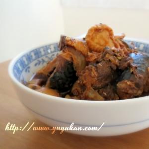鍋一つでできる★切り干し大根と鯖缶のキムチ煮
