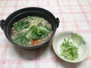 鯖の水煮で作るからだぽかぽか生姜の中華鍋