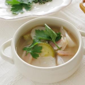 コンソメ入らずの野菜スープ