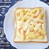 たらこマヨのチーズトースト