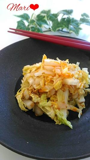 居酒屋風☆簡単おつまみ白菜