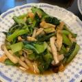めんつゆで小松菜の煮浸し