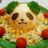 子どもが喜ぶ☆お買いものパンダのポテトサラダ☆