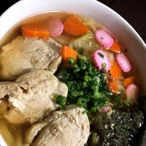 おでんのスープで☆鶏うどん♪♪♪