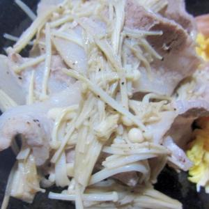 豚バラとえのきの簡単炒め☆