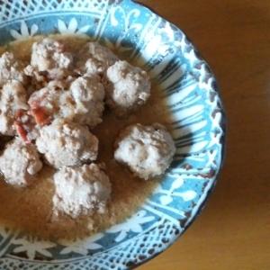 肉団子の梅おろし煮
