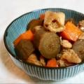 お弁当にも❤新ごぼう&鶏もも肉の煮物♪(人参)