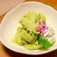 抹茶豆腐アイス