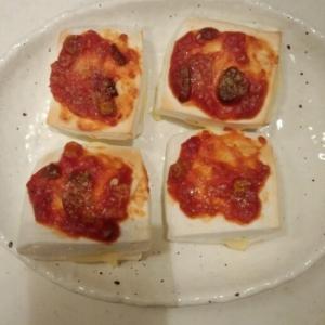 とろ~りチーズのはんぺんでピザ♪