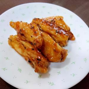 鶏手羽中のかんたん酢煮