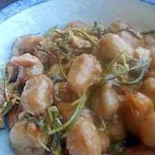 ピリ辛❤ねこぶまんま納豆