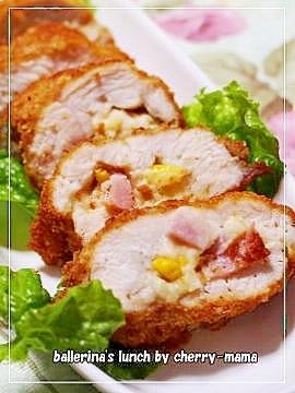 鶏胸肉がジューシーに★ポテサラはさみ揚げ