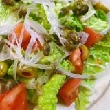 白菜ケッパーサラダ