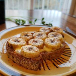 【独居自炊】朝食バナナトースト