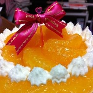 オレンジチーズムースゼリー