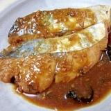 味噌煮のコツは昆布☆ 「サワラ味噌煮」