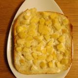 りんごヨーグルトトースト