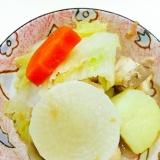 さっぱりとたべたいときにはチキンと野菜の梅干し煮