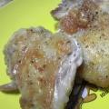 スキレットで鶏肉のカリカリ焼き