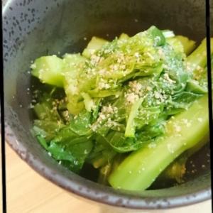 味付けはこれだけ✽菜の花のゆず胡椒和え
