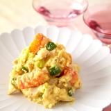 海老と煮卵のサラダ